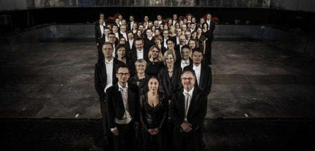 Das Orchester des Staatstheaters Darmstadt