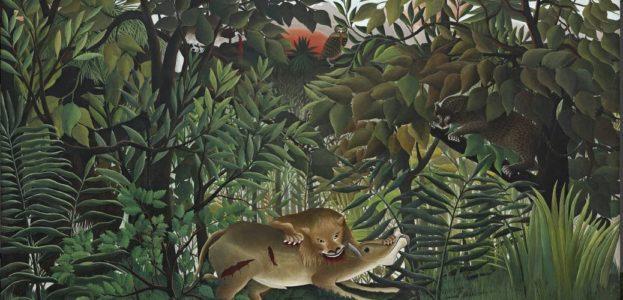 """Henri Rousseau: """"Le Lion"""""""