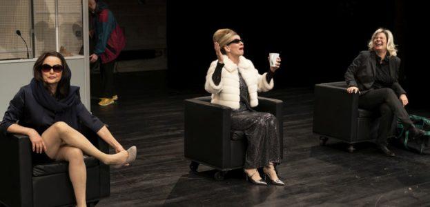 Gabriele Drechsel(Leila), Karin Klaein (Imelda) und Nicole Kersten (Margot)
