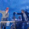 Peer Gynt, von Henrik Ibsen, Staatstheater Darmstadt, Premiere 13.10.07 Inszenierung: Axel Richter, Bühne und Kostüme: Klaus Noack mit Iris Melamed, Sonja Mustoff, Maika Troscheit, Diana Wolf, Matthias Kleinert, Bild: Gustl Meyer-Fürst (Peer III), Klaus Ziemann